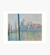 The Grand Canal by Claude Monet Art Print