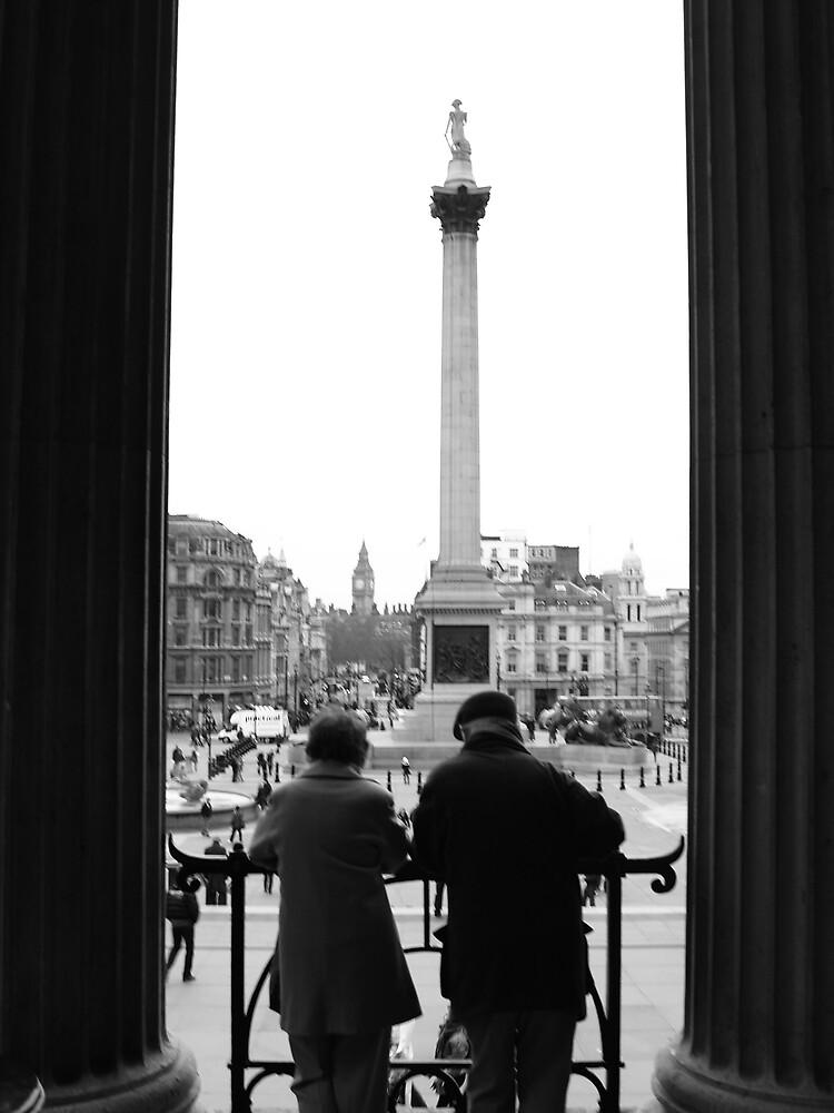 Couple in London by Alex Scott