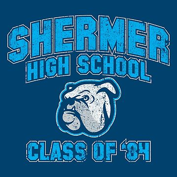 Shermer High School Class of '84 (The Breakfast Club) by huckblade
