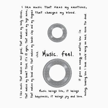 Music. Feel. by 3skin