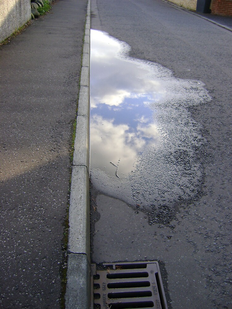cloud puddle by armadillozenith