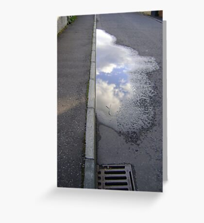 cloud puddle Greeting Card