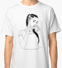 Bhad Bhabie Line Art Merch Classic T-Shirt