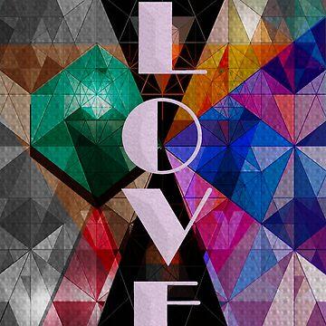 Love Triangle by ALatorreArt