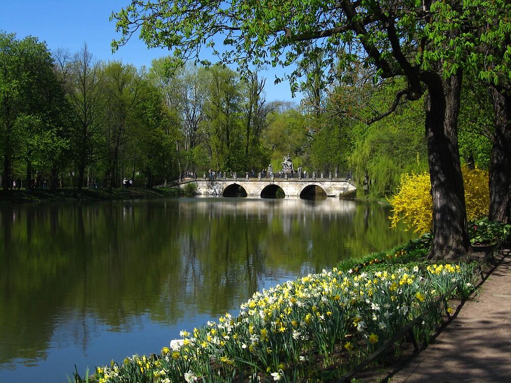 Park by Ryszard Spychala