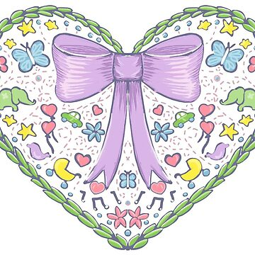 Cute heart for a new baby by MaijaR