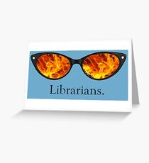 Librarians Greeting Card