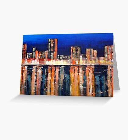 Bright Lights - Big City Greeting Card