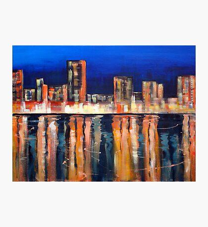 Bright Lights - Big City Photographic Print