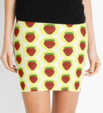 Cute strawberry design Mini Skirt