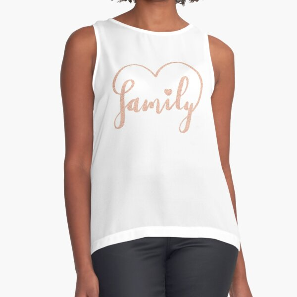 Family Love by Alice Monber Sleeveless Top