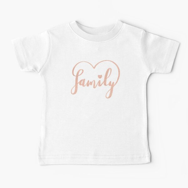 Family Love by Alice Monber Baby T-Shirt