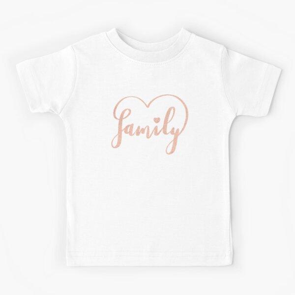 Family Love by Alice Monber Kids T-Shirt