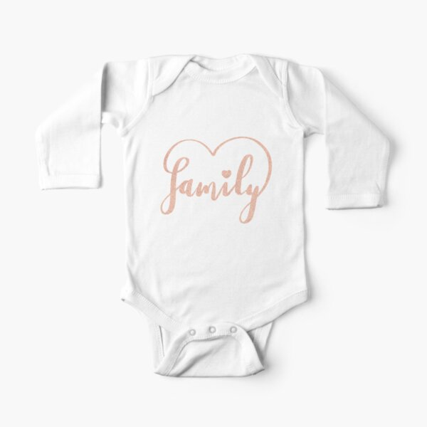 Family Love by Alice Monber Long Sleeve Baby One-Piece