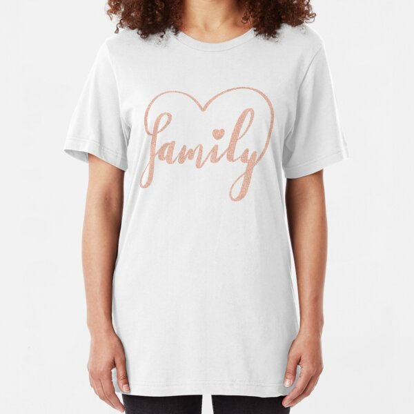 Family Love by Alice Monber Slim Fit T-Shirt