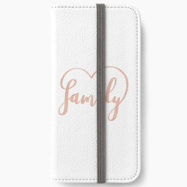 Family Love by Alice Monber iPhone Wallet