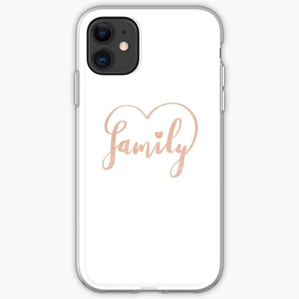 Family Love by Alice Monber iPhone Soft Case