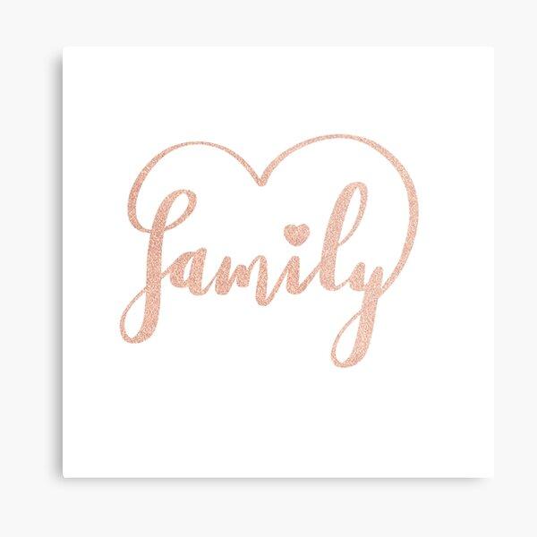 Family Love by Alice Monber Metal Print