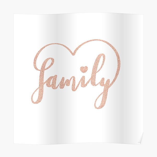 Family Love by Alice Monber Poster