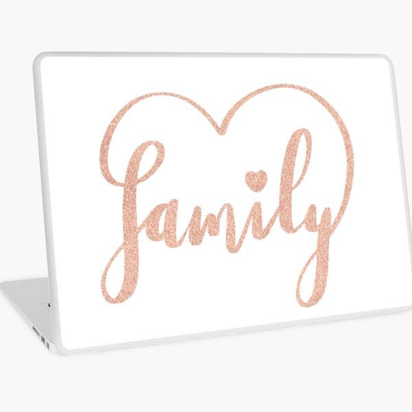 Family Love by Alice Monber Laptop Skin