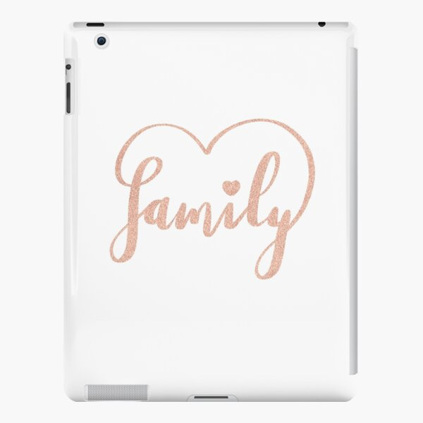 Family Love by Alice Monber iPad Snap Case