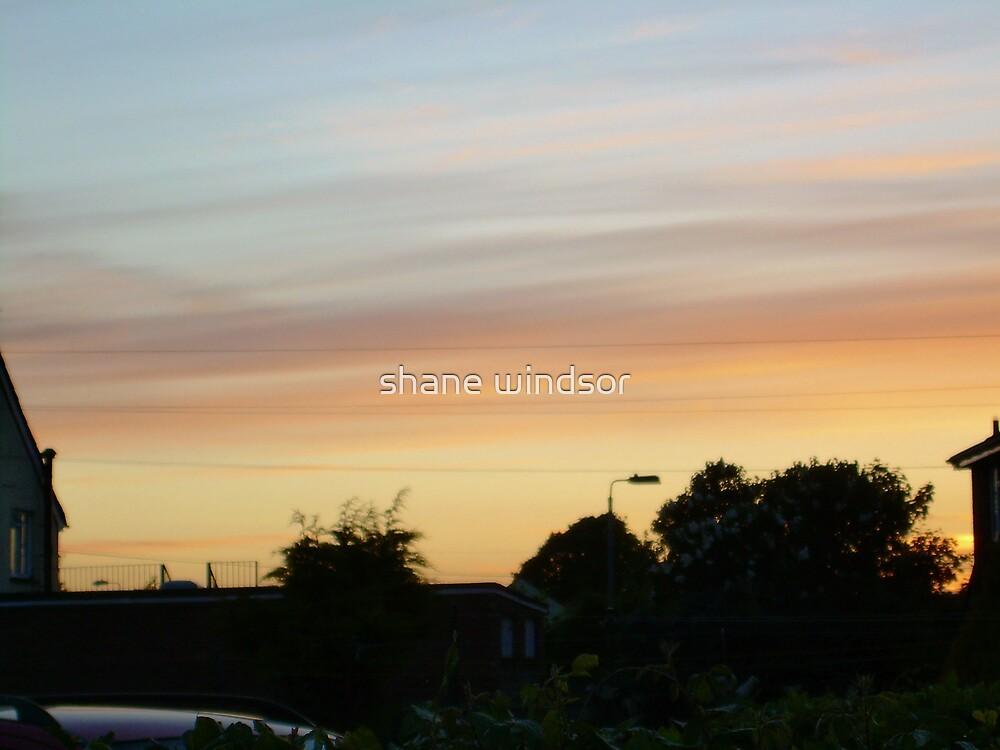 sunset over melksham 3  by shane windsor