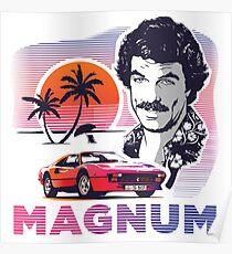 Magnum PI Poster