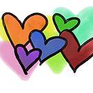 Hearts on Hearts by Filomena Jack