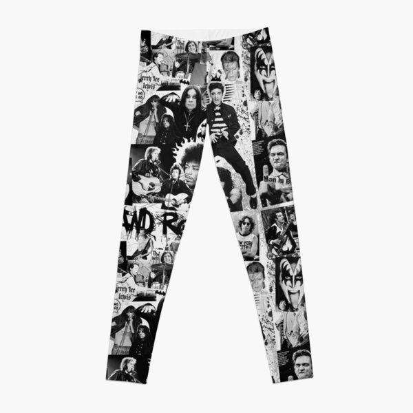 ROCK AND ROLL Tapestry  Leggings