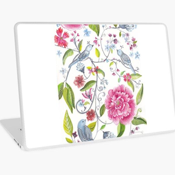 Flower garden Laptop Skin