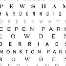 Chippenham Place Names by MissElaineous Designs