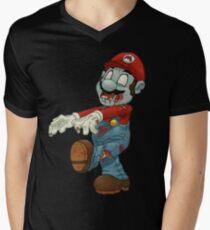 Super Mario Men's V-Neck T-Shirt