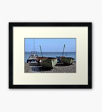Twin Boats, Tweedledum and Tweedledee... Framed Print