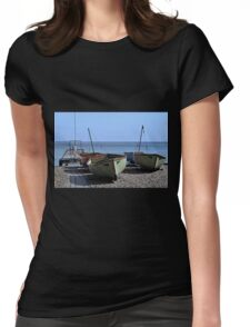 Twin Boats, Tweedledum and Tweedledee... Womens Fitted T-Shirt