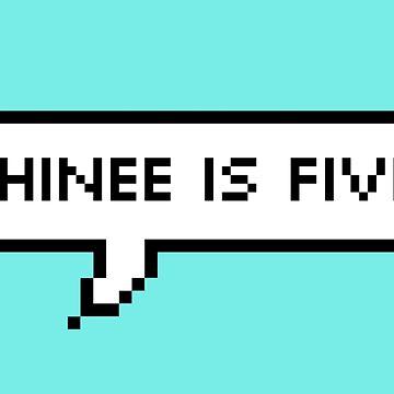 SHInee Is FIVE Pixel!  by Lulu-Kim