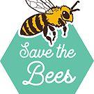 « Sauvez les abeilles Honeycomb » par comfykindness
