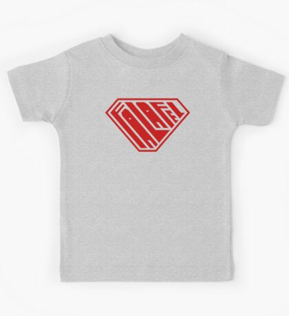 Falafel SuperEmpowered (Red) Kids Clothes