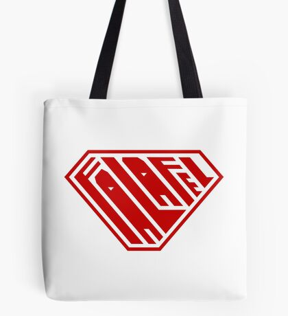 Falafel SuperEmpowered (Red) Tote Bag