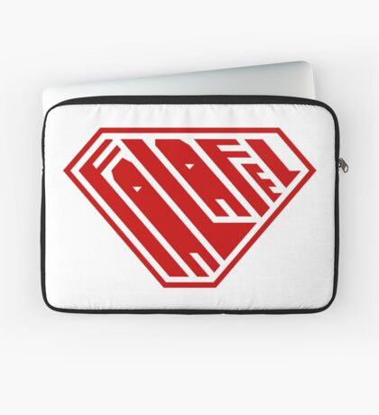 Falafel SuperEmpowered (Red) Laptop Sleeve
