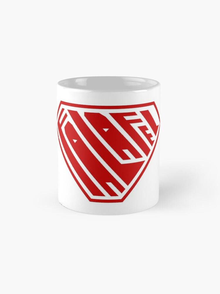 Alternate view of Falafel SuperEmpowered (Red) Classic Mug