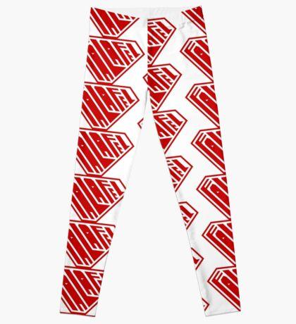 Falafel SuperEmpowered (Red) Leggings