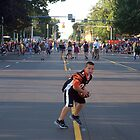 Before the Hall of Fame Parade by Billlee