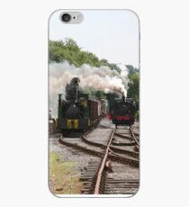 Steamy Industrial Scene iPhone Case