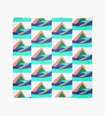 Pink Hills, Generative Art, Data Visualisation Scarf