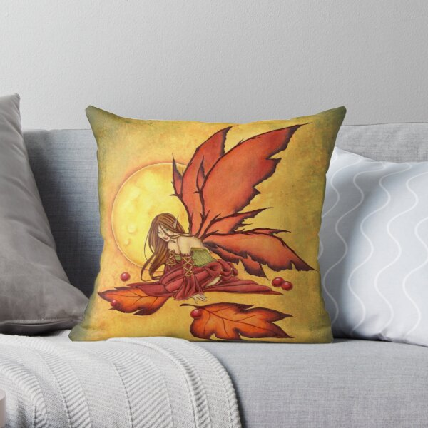 Autumn Ambience Throw Pillow