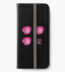 Vinilo o funda para iPhone Rose 愛 Love (Ai)