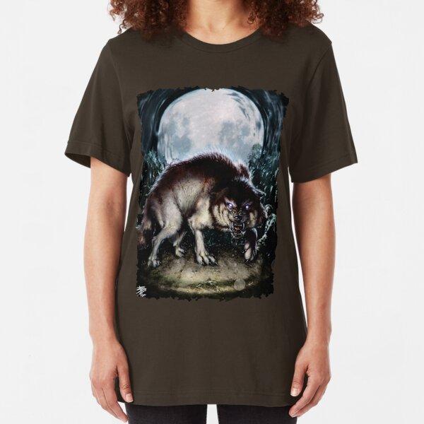 Forsaken Art: Big Wolf Slim Fit T-Shirt