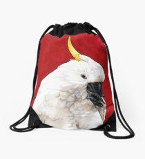 Sulphur Crested Cockatoo Drawstring Bag