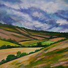 Cerne Hillside by Susan Scott
