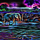Neon Elephant by Michael Moriarty